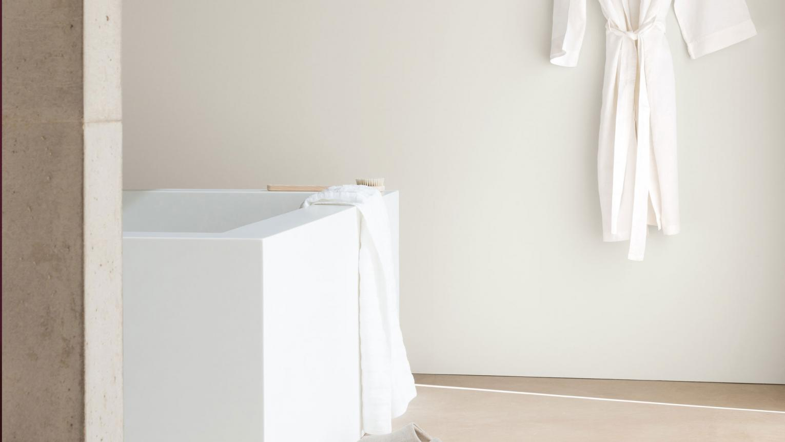 Turn your bathroom decor into a calming haven with a crisp colour palette of soothing whites.