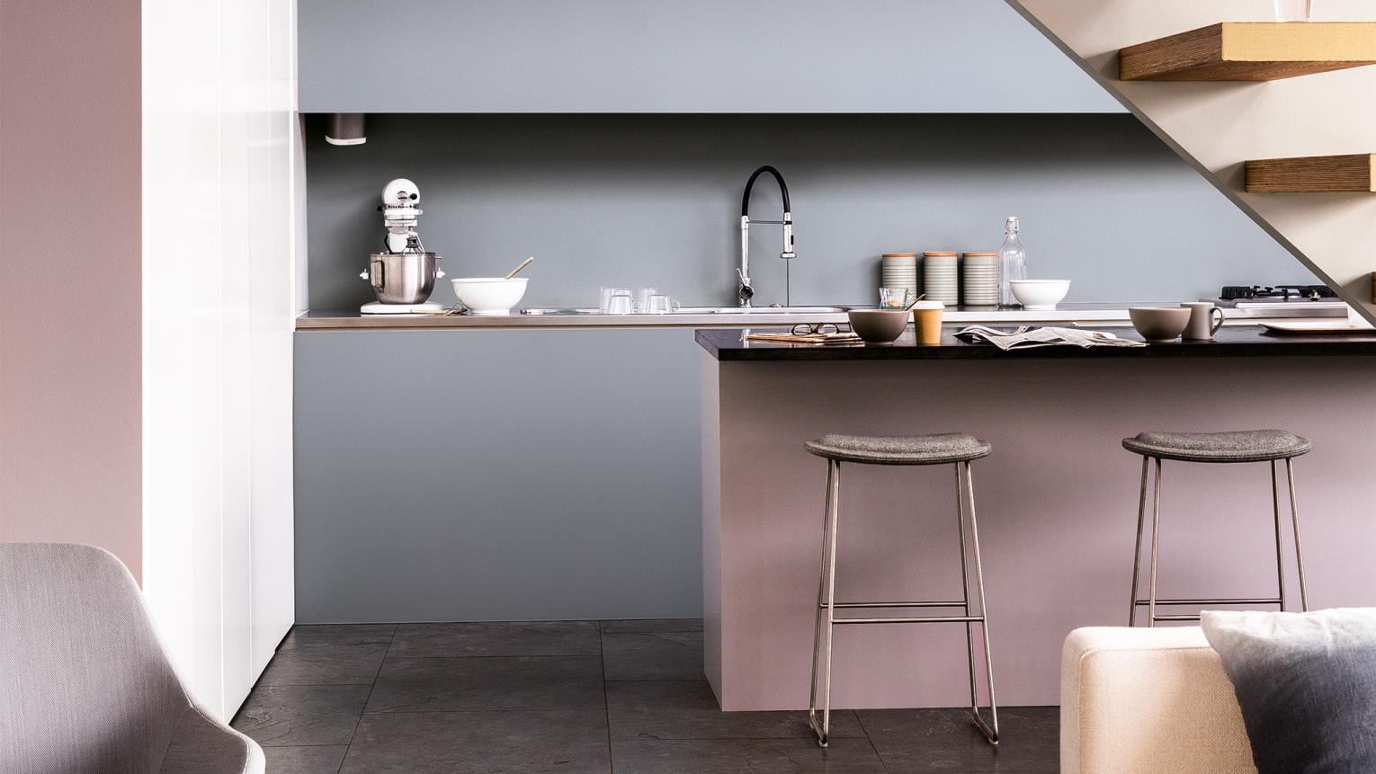 Learn how to use colour to make the most of unloved areas.